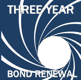 3 year bond renewal